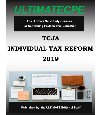 Tax Cuts and Jobs Act - Individual Tax Reforms 2019