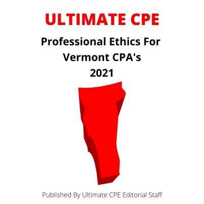 Professional Ethics for Vermont CPAs 2021