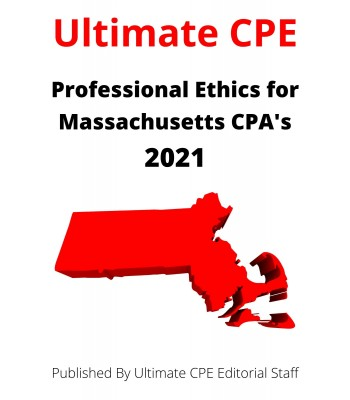 Professional Ethics for Massachusetts CPAs 2021