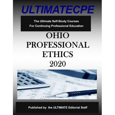 Ohio Professional Ethics 2020