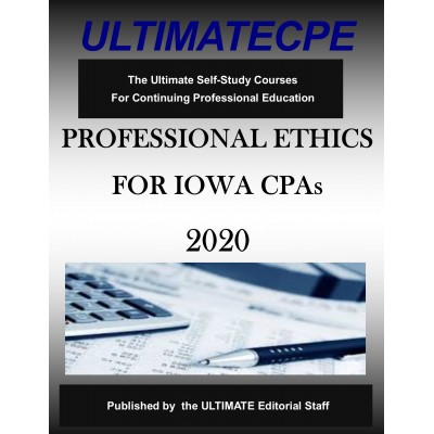 Professional Ethics for Iowa CPAs 2020