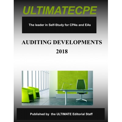 Auditing Developments 2018