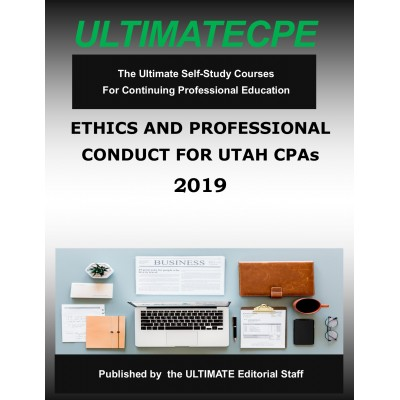 Ethics and Professional Conduct for Utah CPAs 2019