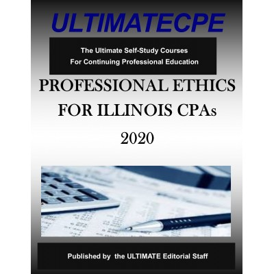 Professional Ethics for Illinois CPAs 2020