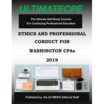 Ethics and Professional Conduct for State of Washington CPAs 2019
