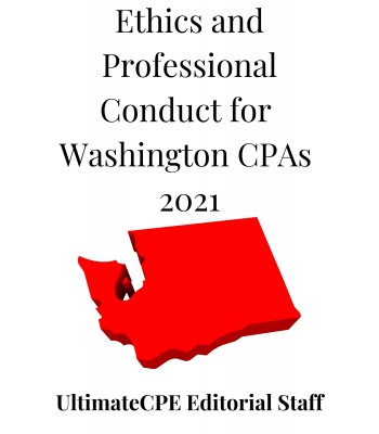 Ethics and Professional Conduct for Washington CPAs 2021
