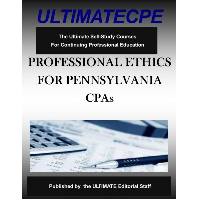 Professional Ethics for Pennsylvania CPAs 2020