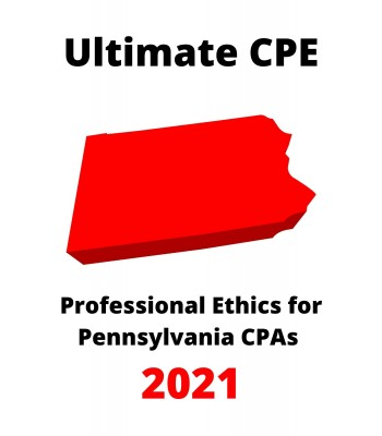 Professional Ethics for Pennsylvania CPAs 2021