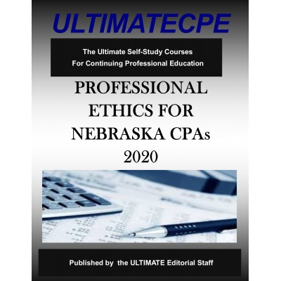 Professional Ethics for Nebraska CPAs 2020