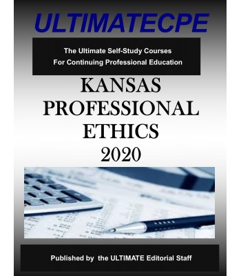 Kansas Professional Ethics 2020