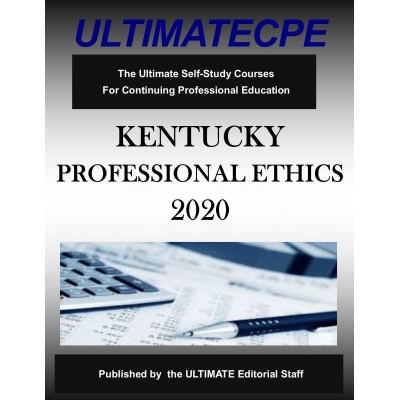 Kentucky Professional Ethics 2020