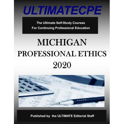Michigan Professional Ethics 2020
