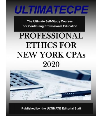 Professional Ethics for New York CPA's 2020