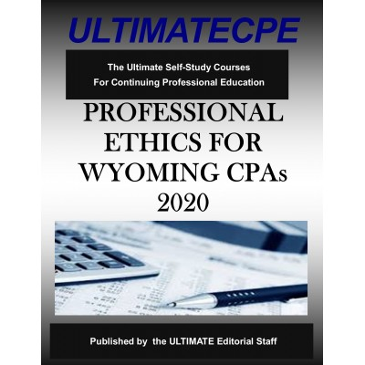 Professional Ethics for Wyoming CPA's 2020