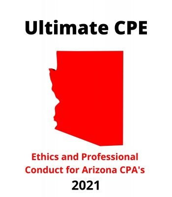 Ethics and Professional Conduct for Arizona CPAs 2021