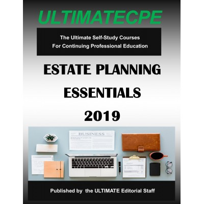 Estate Planning Essentials 2019