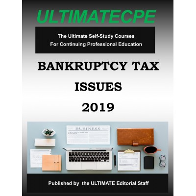 Bankruptcy Tax Issues 2019 Mini-Course