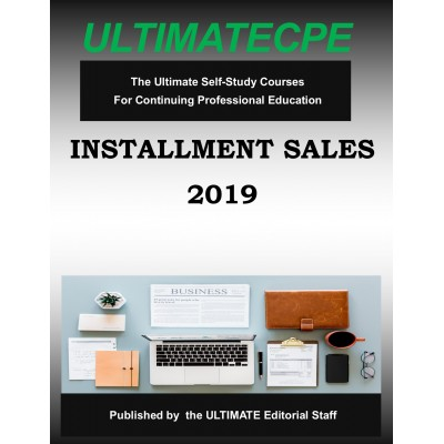 Installment Sales 2019 Mini Course