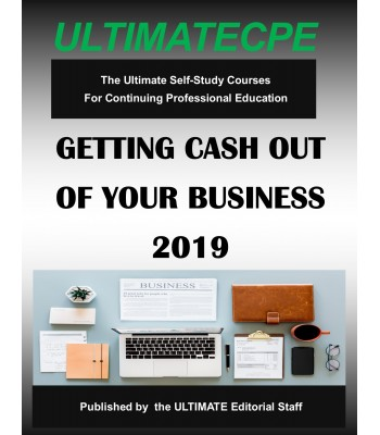 Getting Cash Out of Your Business 2019