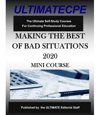 Making The Best Of Bad Situations 2020 Mini Course