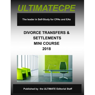 Divorce Transfers and Settlements-Mini-Course