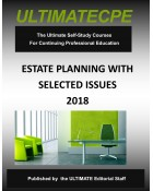 Estate Planning With Selected Issues 2018