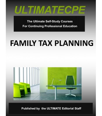 Family Tax Planning 2018