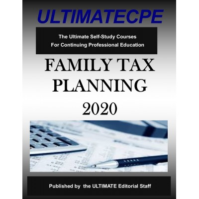 Family Tax Planning 2020