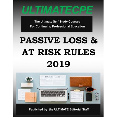 Passive Loss & At-Risk Rules 2019 Mini Course