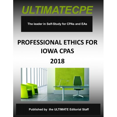 Professional Ethics for Iowa CPAs 2018