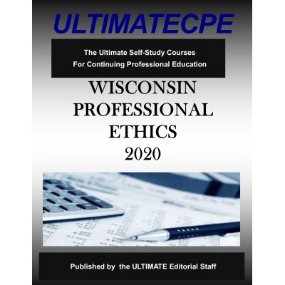 Wisconsin Professional Ethics 2020