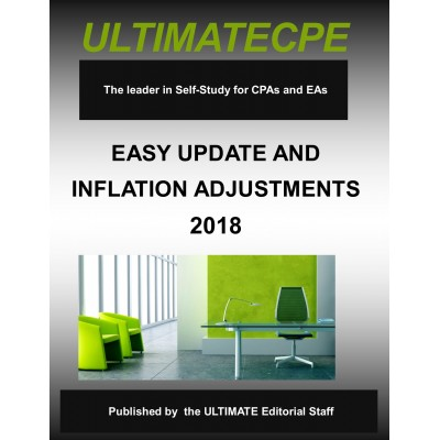 Easy Update & Inflation Adjustments 2018