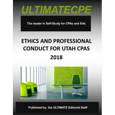Ethics and Professional Conduct for Utah CPAs 6200-18