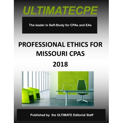 Professional Ethics for Missouri CPAs 2018