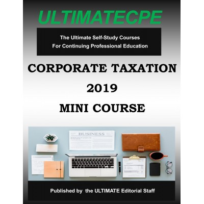 Corporate Taxation 2019 Mini Course