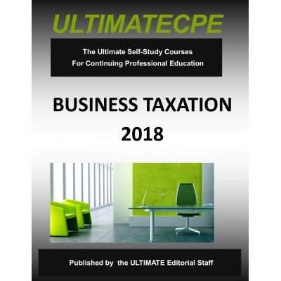 Business Taxation 2018