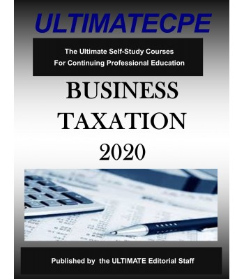 Business Taxation 2020