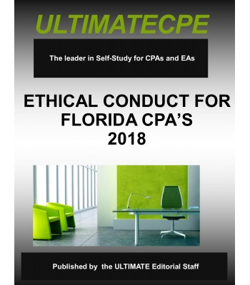 Ethical Conduct For Florida CPA's 2018