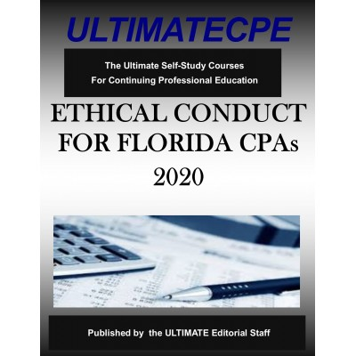 Ethical Conduct For Florida CPA's 2020