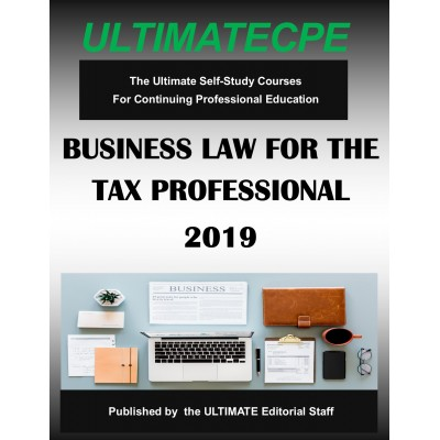 Business Law for the Tax Professional 2019