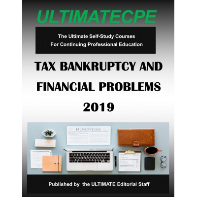 Tax Bankruptcy and Financial Problems 2019