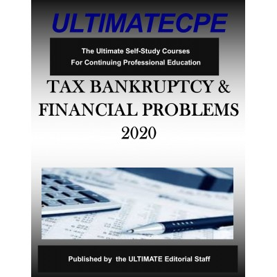 Tax Bankruptcy and Financial Problems 2020