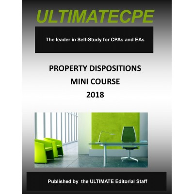 Property Dispositions Mini-Course 2018
