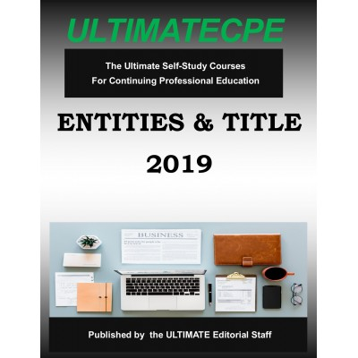Entities & Title 2019 Mini Course