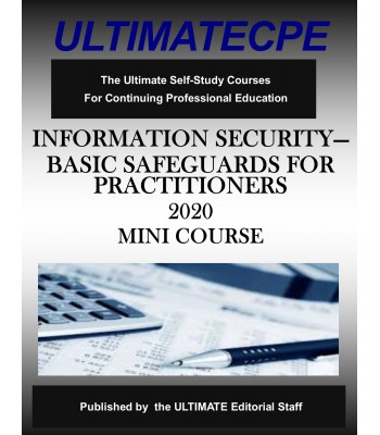 Information Security - Basic Safeguards for Practitioners 2020 Mini Course