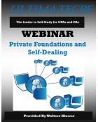Private Foundations and Self-Dealing