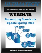 Accounting Standards Update Spring 2018