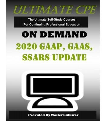 2020 GAAP, GAAS, & SSARS Update