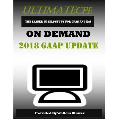 2018 GAAP Update