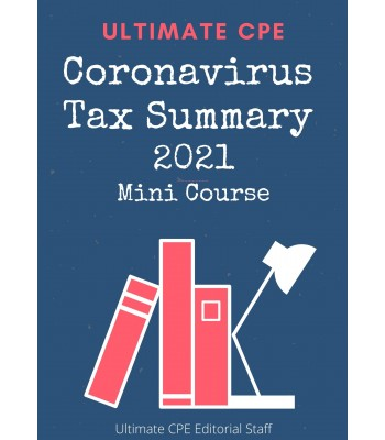 Coronavirus Tax Summary 2021 Mini Course